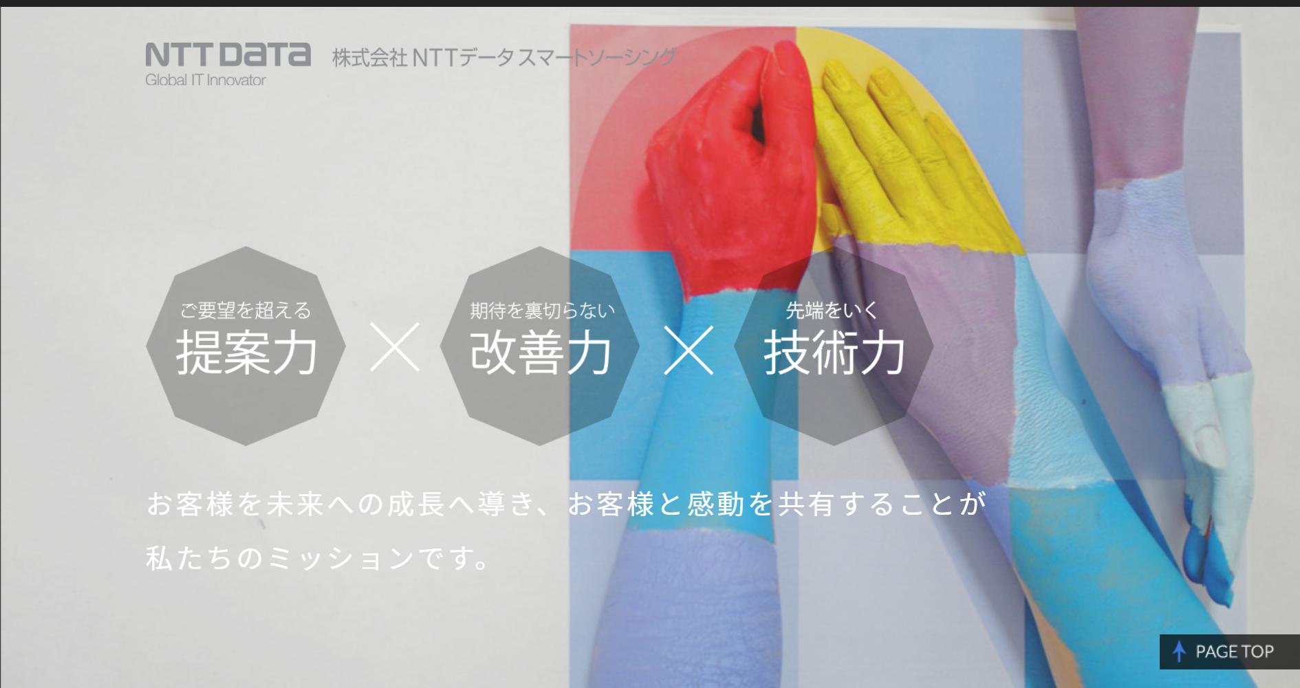 NTTデータスマートソーシングの働きやすさ・評判は?