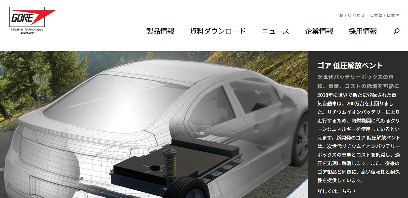 日本ゴアの評判・口コミ