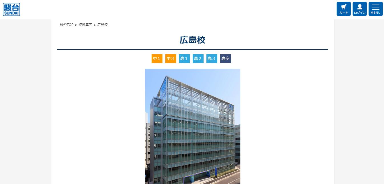 駿河台学園 広島校の評判・口コミ