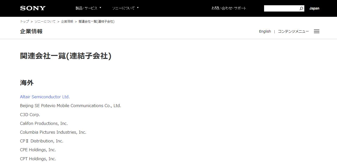 Sony Europe B.V. Ltdの評判・口コミ